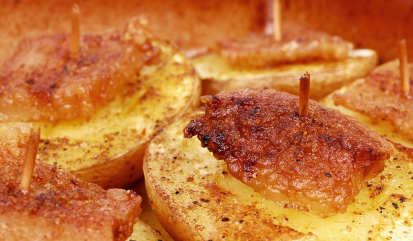 Блажни картофи