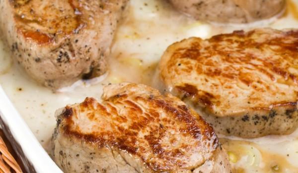 Крехки свински пържоли