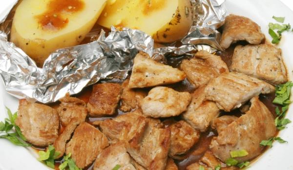 Пържено месо