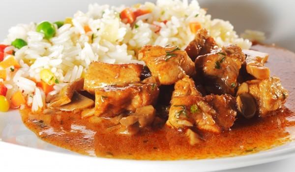 Бериани - ориз с месо и зеленчуци