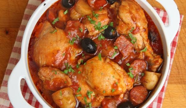 Пиле по провансалски