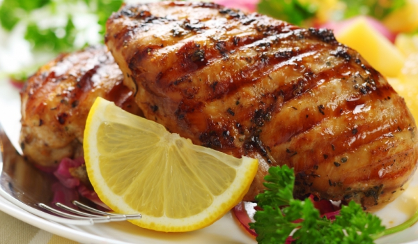 Пилешки гърди с лимон и соев сос