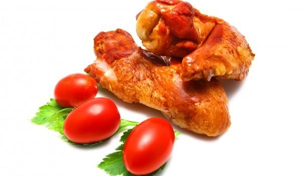 Глазирани пилешки бутчета
