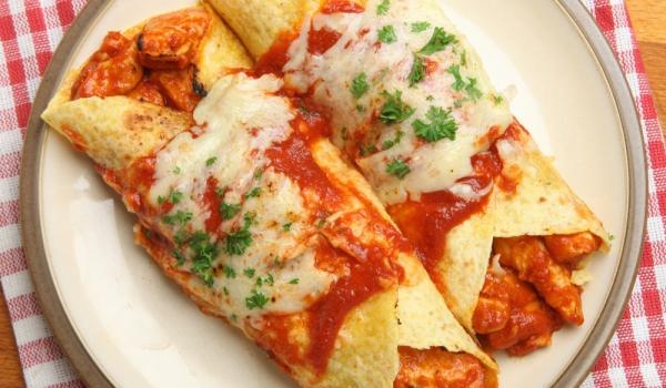 Енчиладас с пилешко месо