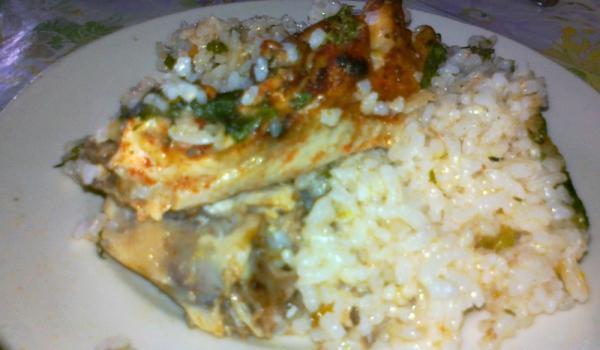 Апетитно пиле с ориз