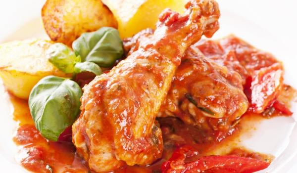Пилешки бутчета във фолио по италиански