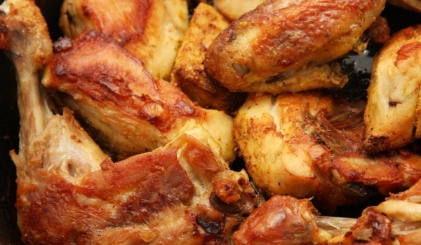 Пиле с бира по руски