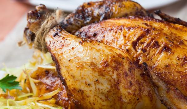 Зимно пиле с кисело зеле