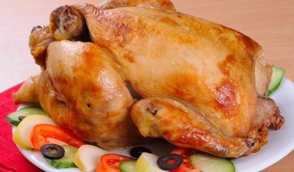 Вкусно пълнено пиле