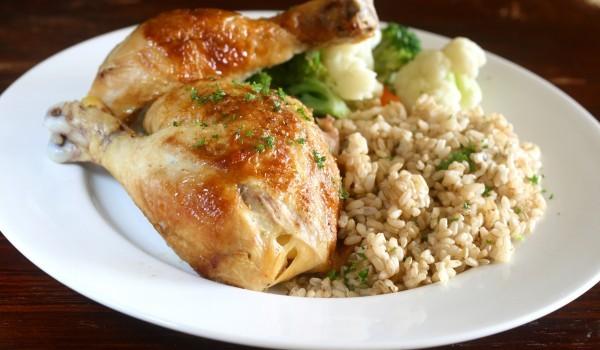 Пиле с ориз по селски