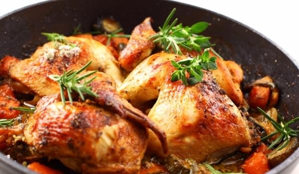 Пиле по шопски