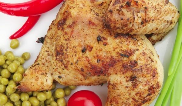 Пилешки трътки със соев сос