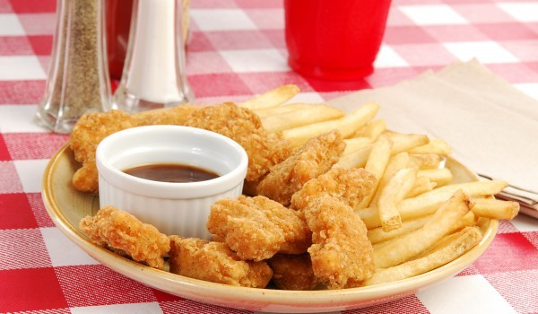 Панирани пилешки хапки