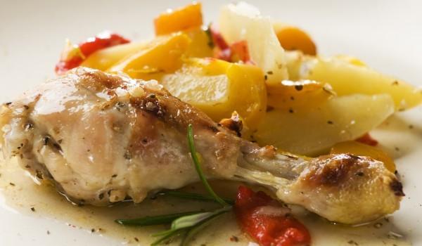 Пиле по гръцки