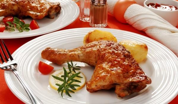 Къри пилешко с мед