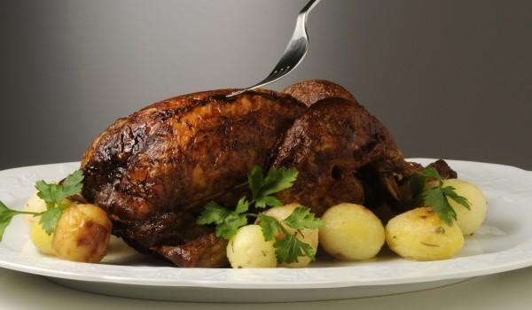 Пиле с плънка по италиански