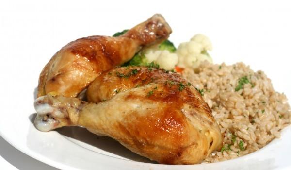 Пиле по индийски Тандури