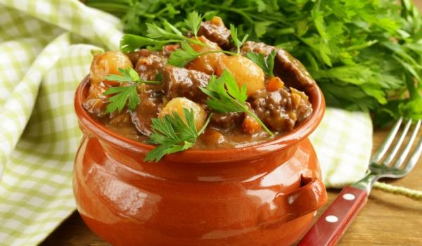 Печено агнешко месо по кримски
