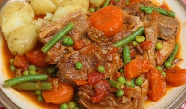 Турски кебап със зеленчуци