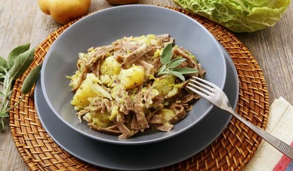 Агнешка глава с картофи