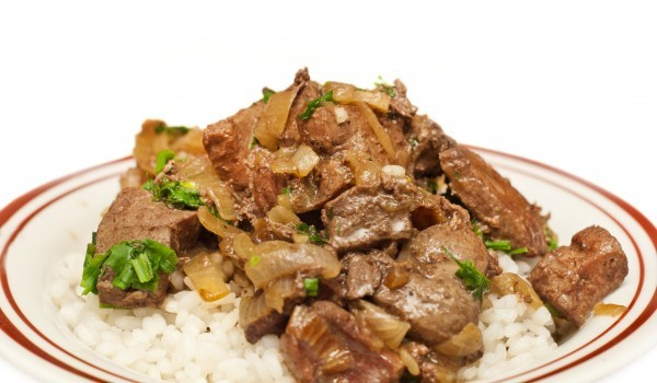 Агнешки сърца с ориз