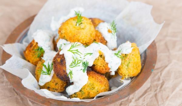 Рибни кюфтета с картофено пюре