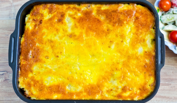 Руски картофен пирог с риба