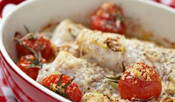 Пудинг от риба с картофи