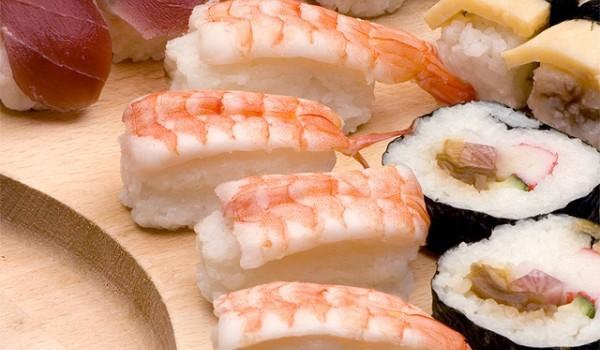 Суши със скариди