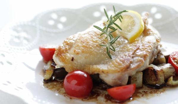 Риба на фурна c домати и карамел