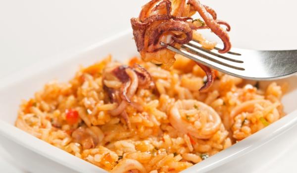 Калмари с ориз