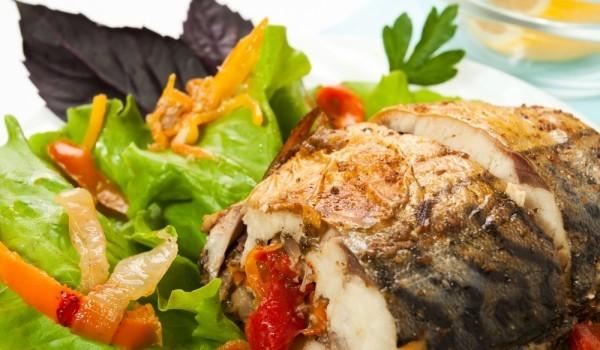 Рибен гювеч с арпаджик