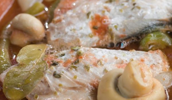 Рибена яхния с гъби