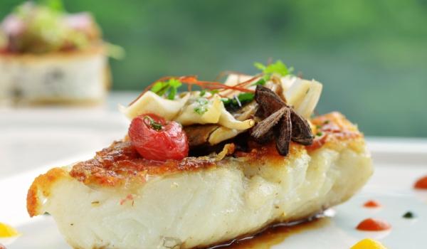 Бяла риба с вино на фурна