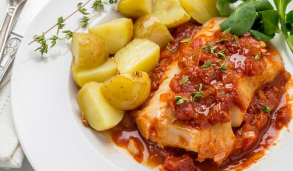 Рибен кебап по гръцки