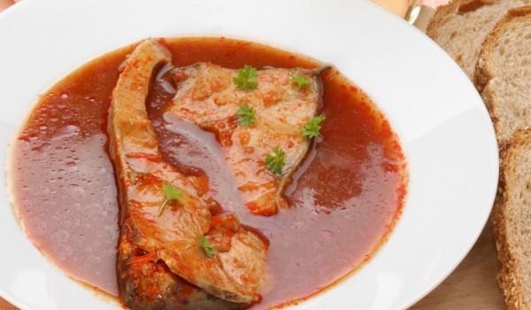 Шаран с доматен сос