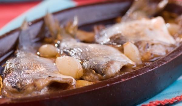 Поморийска печена риба