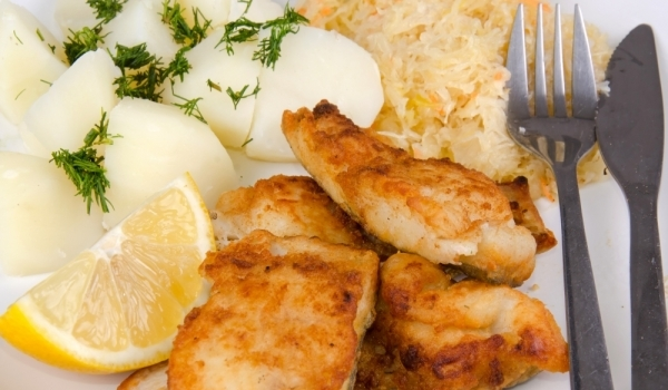 Пържени хапки от рибено филе
