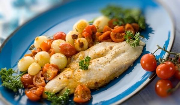 Мерлуза на фурна с картофи