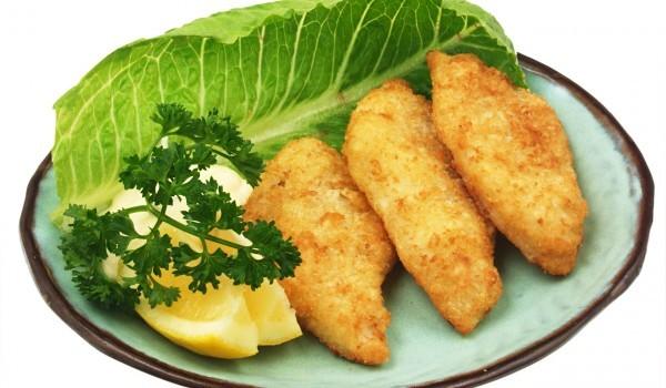 Риба Орли - панирана
