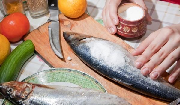 Риба във фолио