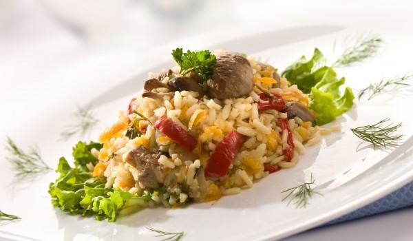 Ориз с дробчета и лук