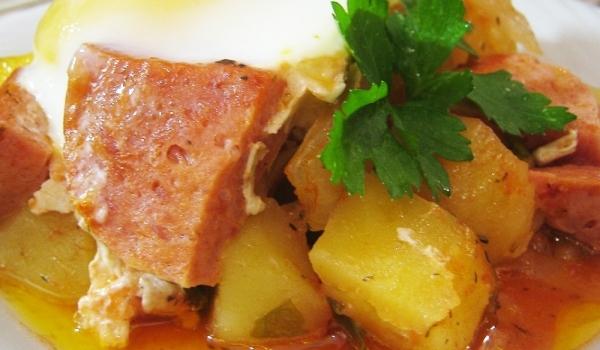Ястие с колбас