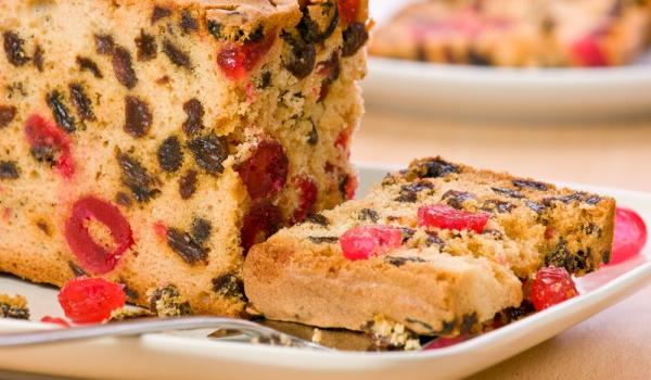 Плодов кекс без захар