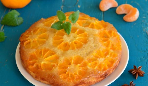 Пирог с мандарини