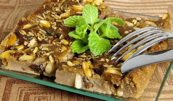 Френски кестенов сладкиш с шоколад