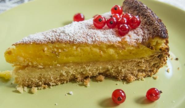 Печен лимонов тарт