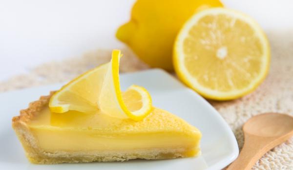 Италиански лимонов тарт без печене