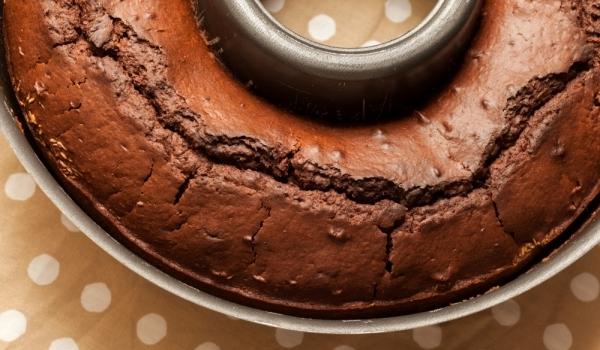 Шоколадов кекс с бадеми