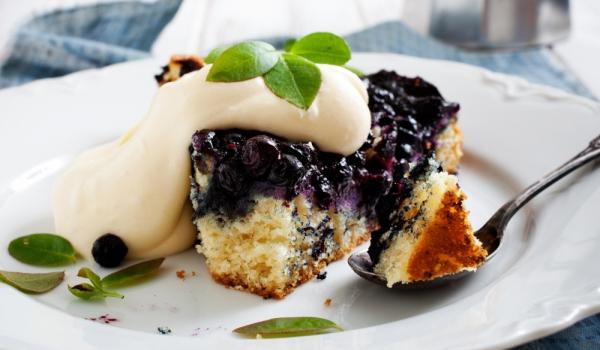 Украински пирог с боровинки